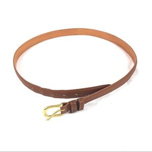 Coach Men's British Tan Leather Belt